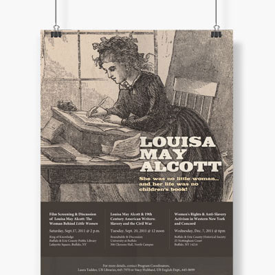 Lousia May Alcott Posters