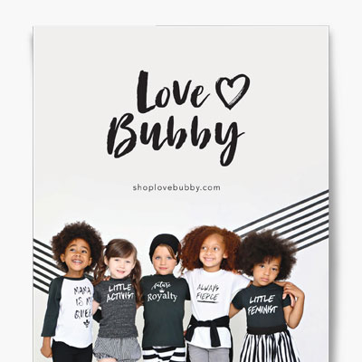 Love Bubby catalog